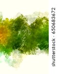 brushed painted abstract... | Shutterstock . vector #650683672