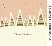 use this retro styled vector as ... | Shutterstock .eps vector #65068435