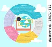 explore infographic | Shutterstock .eps vector #650714512