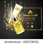 advertising bottles of...   Shutterstock .eps vector #650728552