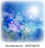 technology background  chemical ... | Shutterstock .eps vector #65076676