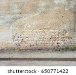 urban background. grunge... | Shutterstock . vector #650771422