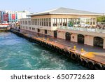 from moving ferry  a view of... | Shutterstock . vector #650772628