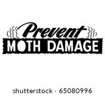 prevent moth damage   ad header ... | Shutterstock .eps vector #65080996