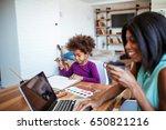 photo of african american woman ... | Shutterstock . vector #650821216