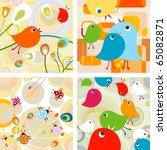 cute animals design set | Shutterstock .eps vector #65082871