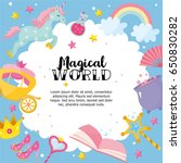 """magical world"" greeting card... 