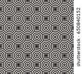 vector seamless geometric... | Shutterstock .eps vector #650840152
