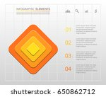 infographics step by step.... | Shutterstock .eps vector #650862712