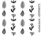 scandinavian style simple... | Shutterstock .eps vector #650908372