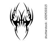 tattoos art ideas designs  ... | Shutterstock .eps vector #650920315