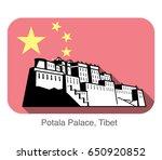 potala palace. landmark of the...