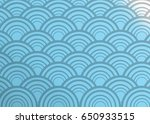 japanese pattern wave   Shutterstock . vector #650933515
