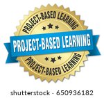 project based learning round... | Shutterstock .eps vector #650936182