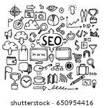 sec doodle sketch vector ink | Shutterstock .eps vector #650954416