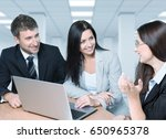 business. | Shutterstock . vector #650965378