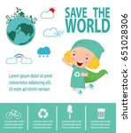 save the world concept  super...   Shutterstock .eps vector #651028306