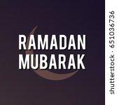 ramadan design background | Shutterstock .eps vector #651036736