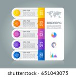 creative concept for... | Shutterstock .eps vector #651043075