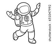 coloring book for children ... | Shutterstock .eps vector #651047992