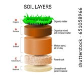 Soil Layers. Soil Is A Mixture...