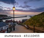 A View From Whitby's 199 Steps...