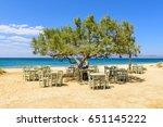 Romantic Greek Tavern On The...