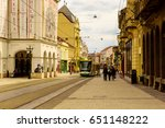 miskolc   april 15  main street ... | Shutterstock . vector #651148222