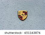 berlin   may 13  2017  hood... | Shutterstock . vector #651163876