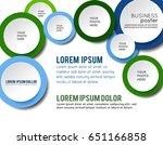 illustration for your business... | Shutterstock .eps vector #651166858