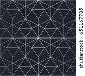 silver texture. seamless... | Shutterstock .eps vector #651167785