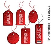 vector set of sale christmas...   Shutterstock .eps vector #65118328