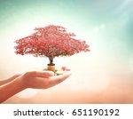 entrepreneurship concept  human ... | Shutterstock . vector #651190192