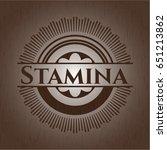 stamina wood signboards | Shutterstock .eps vector #651213862