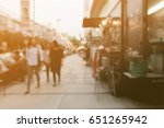 blurred background people... | Shutterstock . vector #651265942