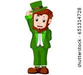 vector illustration of cartoon... | Shutterstock .eps vector #651314728