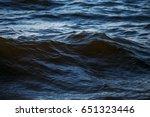 Dark Sea Water Surface