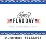 Illustration Of Flag Day...