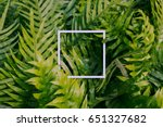 square frame  creative layout... | Shutterstock . vector #651327682