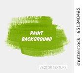 art brush painted acrylic... | Shutterstock .eps vector #651340462