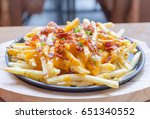 selective focus point delicious ... | Shutterstock . vector #651340552