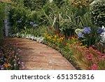colourful border in a secret...   Shutterstock . vector #651352816