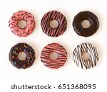 Glazed Donuts Or Doughnuts Set...