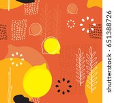 seamless background pattern... | Shutterstock .eps vector #651388726