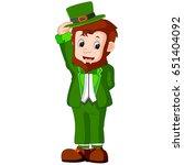 illustration of cartoon funny... | Shutterstock . vector #651404092