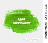 art brush painted acrylic... | Shutterstock .eps vector #651413968