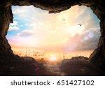 world environment day concept ... | Shutterstock . vector #651427102
