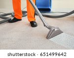 cleaning service concept. dry... | Shutterstock . vector #651499642