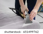 cleaning service concept. dry... | Shutterstock . vector #651499762