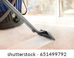 cleaning service concept. steam ... | Shutterstock . vector #651499792